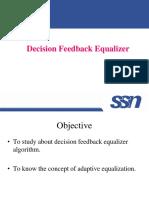 Decision Feedback Equaliser