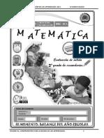 MATEMATICA SECUNDARIA 2°