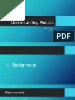 Understanding Phonics