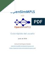 Opensimmpls Guia Rapida Usuario