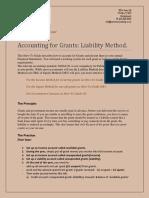Grants Liability