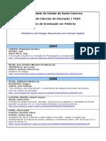 Relatorios de Estagios 2005 e 2006
