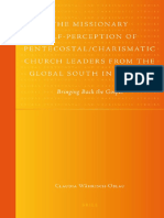 Claudia Währisch-Oblau-The Missionary Self-Perception of Pentecostal Charismatic Church Leaders From the Global South in Europe (Global Pentecostal and Charismatic Studies) (2009)