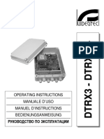 Dtrx3 Dtrx324 Manual