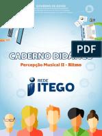 Caderno Didático Percepção Musical II - Ritmo