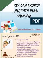 Konsep Dan Prinsip Manajemen