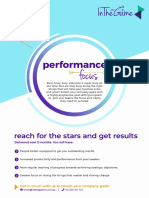 Performance Focus - In the Game