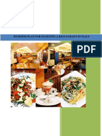 Business Plan for Starting a Restaurant