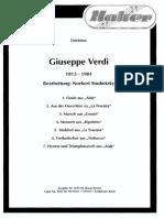 Giuseppe Verdi - Seleção de Norbert Studnitzky