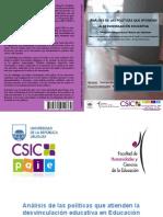 Análisis de Las Políticas Que Atienden La Desvinculación Educativa en Educación Media Básica Pública Del Uruguay