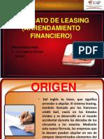 CONTRATO DE LEASING (ARRENDAMIENTO FINANCIERO) ............pptx