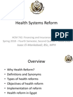 3 Health Systems Reform Oct 12 2018