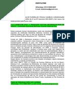 5°e 6° SEMESTRE 2018 - 2  PRODUÇÃO TEXTUAL INTERDISCIPLINAR EM GRUPO – Instituição Eletrobrás Eletrosul Centrais Elétricas S.A.