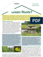 Green Roofs Fact Sheet