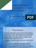 Kontrol Sekresi Hormon Endokrin Pada Hipotalamus