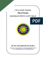 Tor Pelatihan Komunikasi Efektif Dan Shof Skills