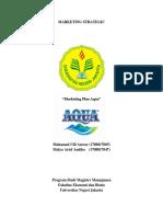Marketing Plan Aqua Kelompok 1