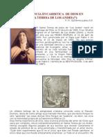 Experiencia Eucaristica de Dios en Santa Teresa de Los Andes