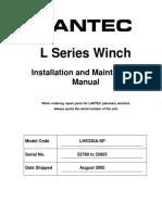 52788-L330 Lantec Winch Carrier Winch