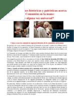 La Historia de la comunión en la mano - San Cirilo de Jerusalén