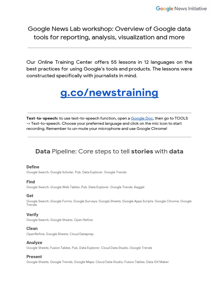 Google News Lab_ Summary for DataFest Tbilisi 2018 | World Wide Web