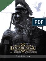 Lex Arcana Quickstarter Set English Version 1.2