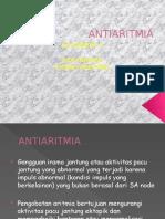 farmakologi ANTIARITMIA