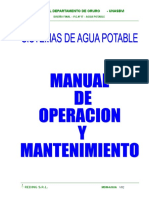 Manual Oper Man Agua