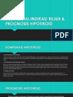Prognosis, Komplikasi & Indikasi Rujukan Hk