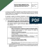 1. Requisitos de Medio Ambiente Para Contratistas y Subcontratistas (Rev 170616)