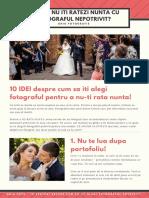 Cum Sa Nu Iti Ratezi Nunta Cu Fotograful Nepotrivit