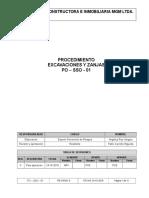Po- Sso -01 Excavaciones y Zanjas Rev. 0