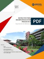 Instructivo Inscripciones 2019-1 (1)