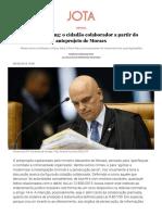 Whistleblowing_ o Cidadão Colaborador a Partir Do Anteprojeto de Moraes - JOTA Info