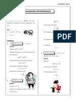 Guia 3 - Ecuaciones Exponenciales