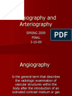 Angiography and Arteriography