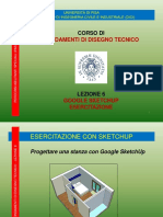 Prof. Nocera - SketchUp - Esercitazione