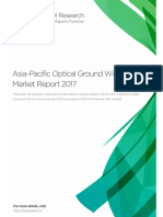 Asia-Pacific Optical Ground Wire (OPGW) Market Research Report 2018 Sample Ccy