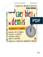 2 Como Caer Bien A Los Demas En Menos De 90 Segundos, Boothman Nicholas.PDF