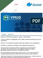 Docker VMUG