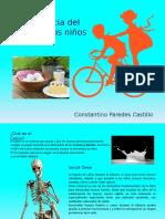 Constantino Parente Castillo - Importancia Del Calcio