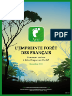 """Rapport complet d'Envol Vert sur """"l'empreinte forêt"""""""