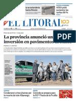 El Litoral Mañana | 8/11/2018