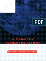 The Economics of the World Trading System - Kyle Bagwell, Robert W Staiger