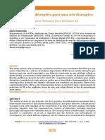 __Artigo - Santaella - 'Filosofia disruptiva para arte disruptiva' (2018).pdf