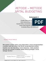 METODE – METODE CAPITAL BUDGETING_(1).pptx