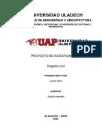 Registro Civil Pro