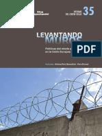 Levantando Muros. Políticas del miedo y la securitización en la Unión Europea