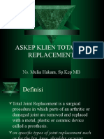 Askep Klien Total Hip Replacement