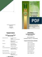 Programa Estudiantes de Honor 2018-Ciencias Agrícolas